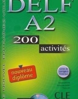 DELF A2  200 activités Livre + Audio CD