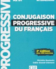 Conjugaison progressive du français - Niveau intermédiaire - Livre + CD - 2eme édition Nouvelle couverture