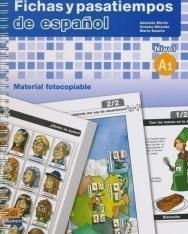 Fichas y pasatiempos de espanol Nivel A1 - Material fotocopiable