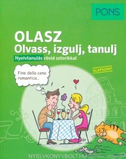 PONS Olasz Olvass, izgulj, tanulj – Nyelvtanulás rövid sztorikkal