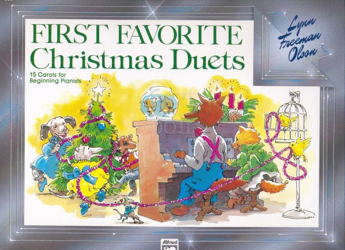 First favorite Christmas Duets - zongora, 4 kezes