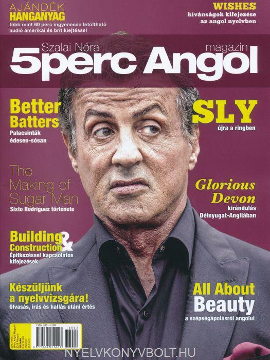 5 Perc Angol Magazin 2016 Február