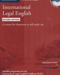 International Legal English Student's Book contains Audio CDs - Second Edition