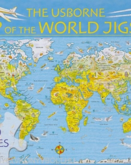 The Usborne Map of the World Jigsaw