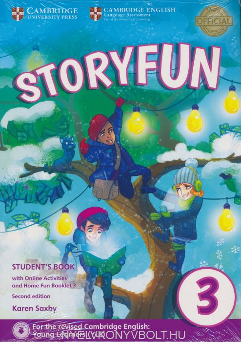 Storyfun 2nd Edition (for Movers) Level 3 Student's Book with Online Activities and Home Fun Booklet 3
