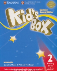 Kid's Box Second Edition Updated 2 Activity Book with Online Resource