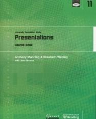 TASK: University Foundation Study Module 11: Presentations Course Book