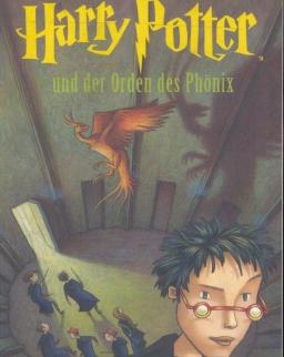 J. K. Rowling: Harry Potter und der Orden des Phönix (Harry Potter és a Főnix Rendje - német nyelven)