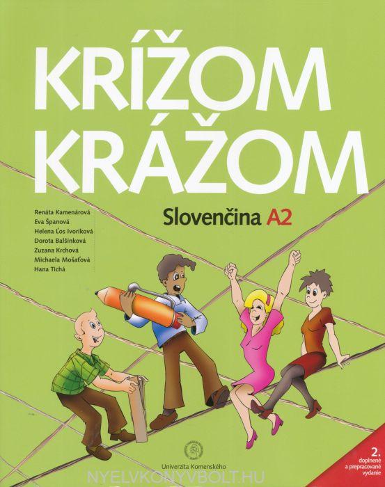 Krížom-krážom Slovenčina A2 + Audio CD (2)