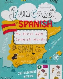 Fun Card: My First 600 Spanish Words