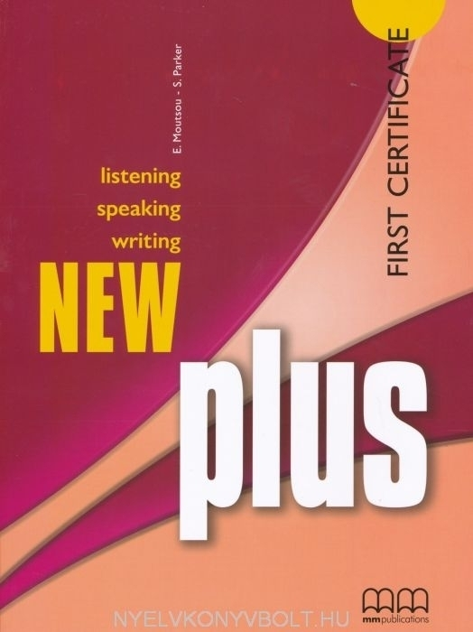New Plus First Certificate Student's Book