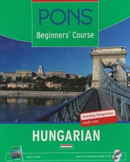 PONS Beginners Course Hungarian - Self-Study Book & Audio CDs (2) Pack
