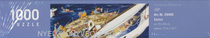 Heye Puzzle 1000 - Sailors