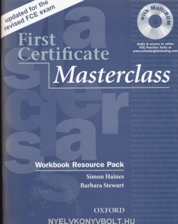 First Certificate Masterclass 2008 Edition Workbook Resource Pack without Key with MultiROM