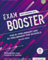 Cambridge English Exam Booster for B1 Preliminary and  Preliminary for Schools with Answer Key with Audio - Photocopiable Exam Resources for Teachers