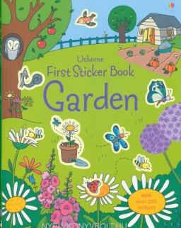 Garden (Usborne Sticker Books)