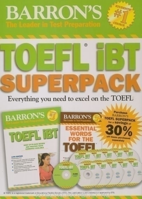 Barron's TOEFL iBT Superpack 2nd edition