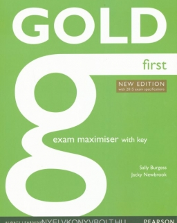 Gold First Exam Maximiser with Key - New Edition with 2015 Exam Specifications