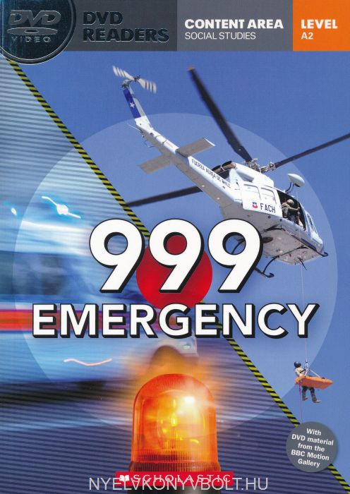 999 Emergency with DVD - DVD Reader Level A2  Content Area Social Studies