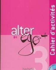 Alter ego + 3 Méthode de francais Cahier d'activités + CD audio