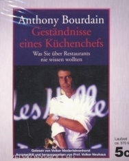 Anthony Bourdain: Geständnisse eines Küchenchefs Audio CD