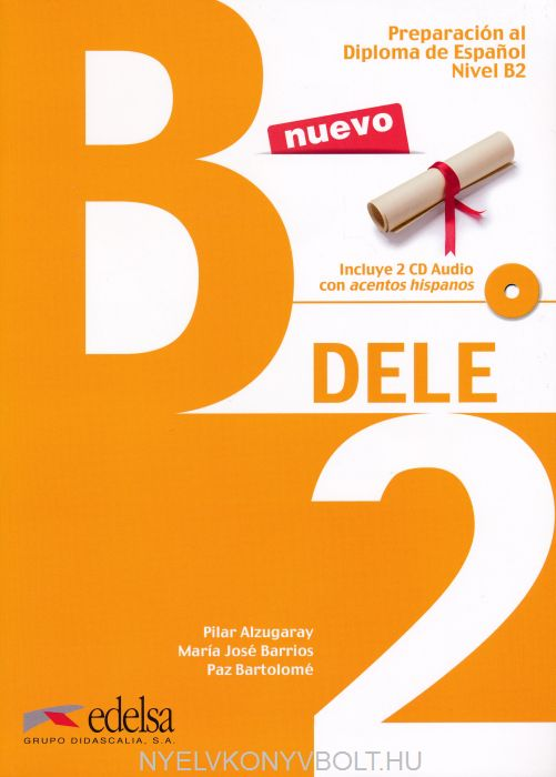 Preparación al DELE B2 Libro + Cd audio. Nueva edición 21014