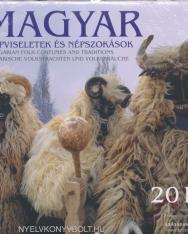 Magyar Népviseletek és népszokások falinaptár 2018 (22x22)