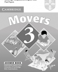 Cambridge Young Learners English Tests Movers 3 Answer Booklet