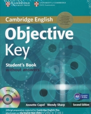 Objective Key Student's Book Pack without Answers and CD-ROM and Practice Test Booklet Second Edition