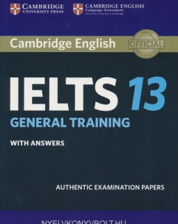 Cambridge IELTS 13 Official Authentic Examination Papers Student's Book with Answers