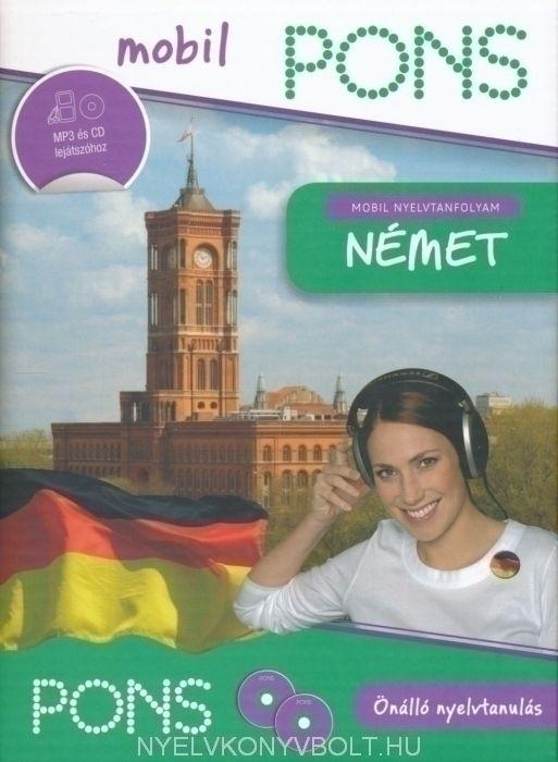 Pons Mobil Nyelvtanfolyam Extra Német könyv és cd