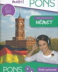 Pons Mobil Nyelvtanfolyam Német - Kísérőfüzet + 2 db Audio CD (MP3 tartalommal)