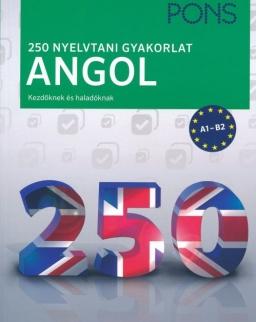 PONS 250 Nyelvtani gyakorlat Angol - Kezőknek és haladóknak