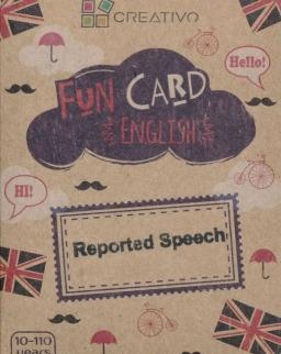 Fun Card English: Reported Speech