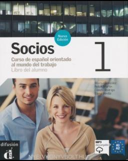 Socios 1 Nueva edicion Libro del alumno - Incluye CD Audio, O audio descargable