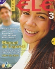 Agencia ELE- Manual de Espanol nivel 3 B1.1 Libro de Clase incluye CD
