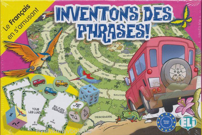 Inventons Des Phrases! - Le Francais en s'amusant (Társasjáték)