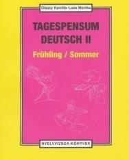 Tagespensum Deutsch Frühling/Sommer