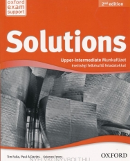 Solutions Upper-Intermediate 2nd Edition Munkafüzet Érettségi Felkészítő Feladatokkal (Új)