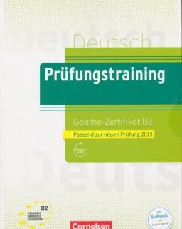 Prüfungstraining DaF B2 Goethe-Zertifikat - Neubearbeitung: Übungsbuch mit Lösungsbeileger und Audio-Download