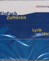 EinFach ZuHören: Lyrik nach 1945 - Hörbuch