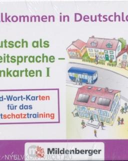 Willkommen in Deutschland - Deutsch als Zweitsprache - Lernkarten I
