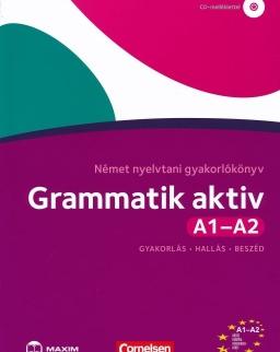 Grammatik Aktiv A1-A2 - Német nyelvtani gyakorlókönyv CD melléklettel (MX-526)