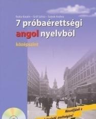 7 próbaérettségi angol nyelvből - középszint - Audio CD-vel