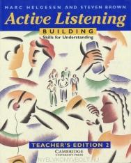 Active Listening: Building Skills for Understanding Teacher's ed