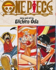 Eiichiro Oda: One Piece - Volume 1-3