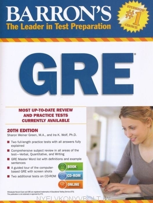 Barron's GRE Twentieth Edition with CD-ROM