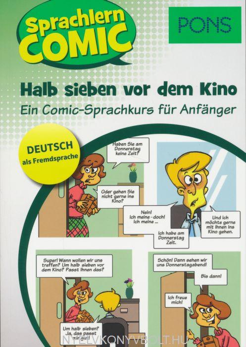 Pons Sprachlern Comic - Halb sieben vor dem Kino - Ein Comic Sprachkurs für Anfänger