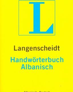 Langenscheidt Handwörterbuch Albanisch