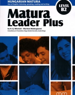Matura Leader Plus Level B2 Student's Book with Audio CD